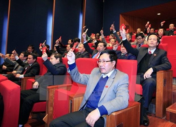 New Party Central Committee hoped to promote unity, democracy hinh anh 1