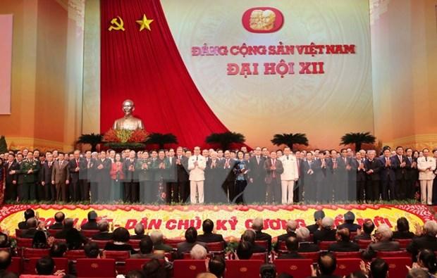 Party Congress: New Politburo announced hinh anh 1