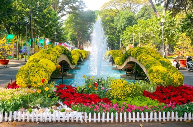 Spring Flower Festival colours Ho Chi Minh City hinh anh 1
