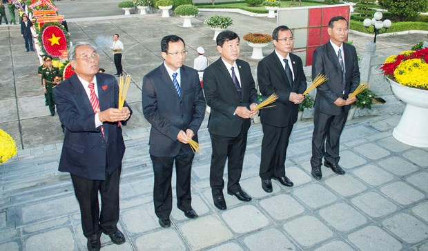 Activities celebrate Party's founding hinh anh 1