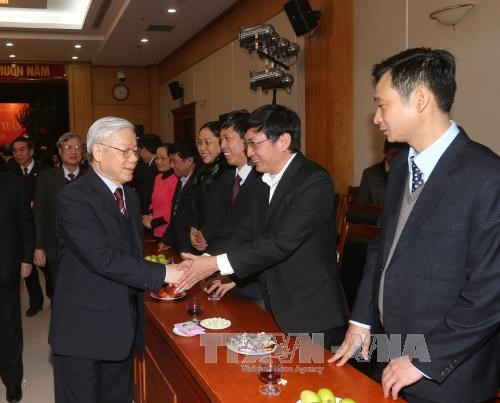 Advisory role of Party Central Committee's office hailed hinh anh 1