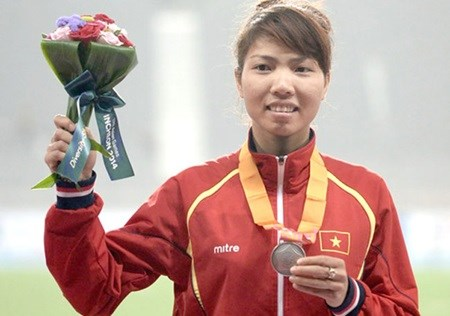 Thao wins silver at Asian Indoor Athletics champs hinh anh 1
