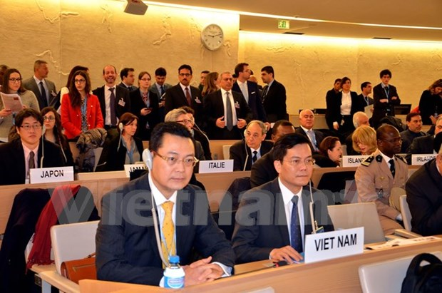 Vietnam actively contributes to UNHRC's efforts: Diplomat hinh anh 1