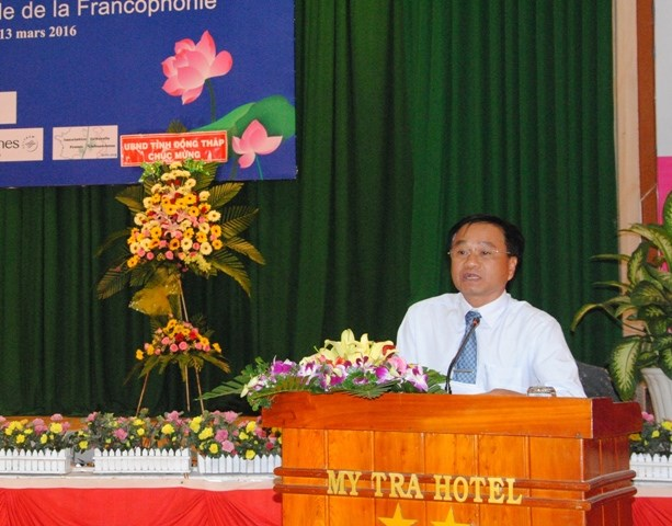 Dong Thap hosts regional Francophone festival hinh anh 1