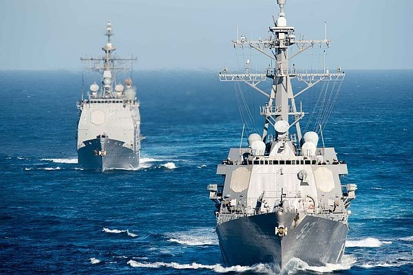 Indonesia, US make plan for 2016 regular navy drill hinh anh 1