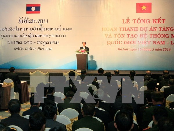 Vietnam, Laos agree to foster friendship and cooperation hinh anh 1