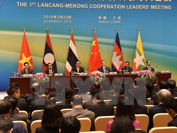 First Mekong-Lancang Cooperation leaders' meeting opens in China hinh anh 1