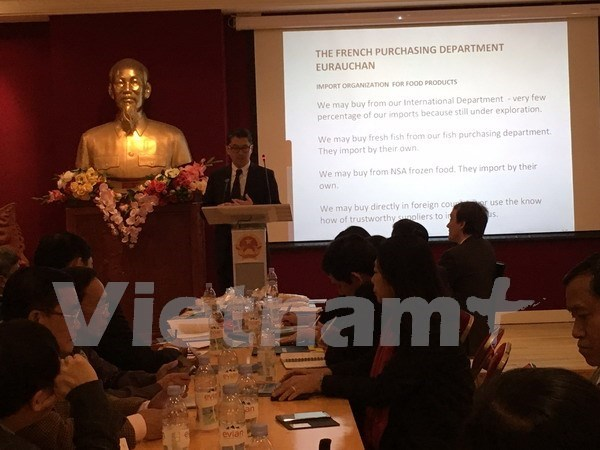 Vietnamese rice seeks to set foot in French market hinh anh 1