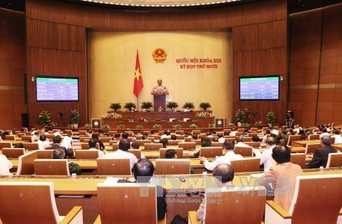 Eighth working day of NA's 11th meeting hinh anh 1