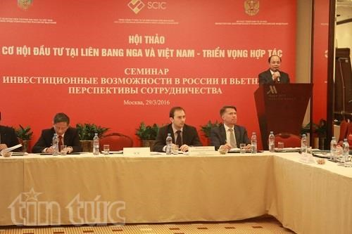 SCIC promotes investment ties with Russian partners hinh anh 1
