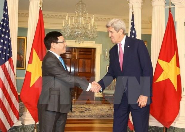Vietnam, US seek ways to enhance bilateral partnership hinh anh 1