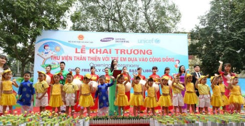 Hanoi launches child-friendly library model hinh anh 1