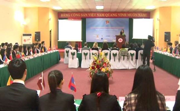 ASEM youth week opens in Hanoi hinh anh 1