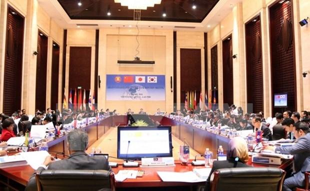 ASEAN +3 financial officials meet in Vientiane hinh anh 1