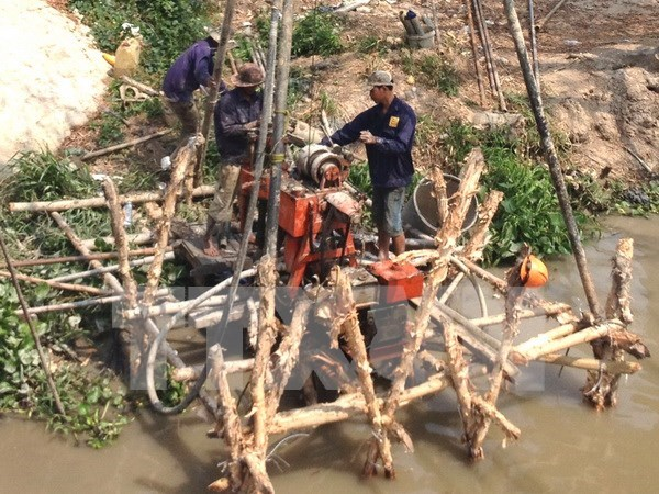Mekong Delta challenged to ensure water security: expert hinh anh 1