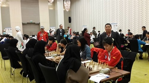 Vietnam rank eighth in chess at Asian National Cup hinh anh 1