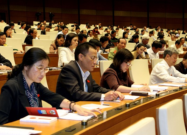 National Assembly passes draft laws hinh anh 1