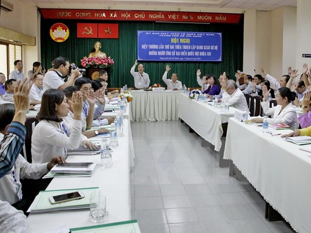 HCM City: 36 candidates to run for 14th National Assembly hinh anh 1