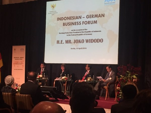 Indonesia, Germany boost bilateral ties hinh anh 1