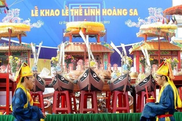 Quang Ngai's Ly Son commemorates Hoang Sa sailor-soldiers hinh anh 1