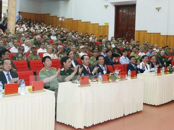 Ceremony marks Dien Bien Phu victory hinh anh 1