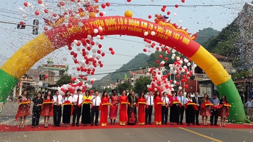 National highway section reopened to public hinh anh 1