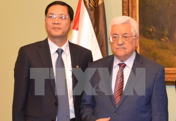 Palestine looks to boost ties with Vietnam hinh anh 1