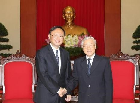 Party chief welcomes Chinese guest hinh anh 1