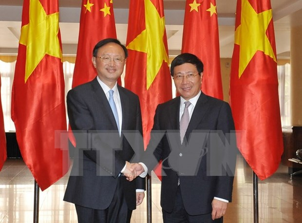 Vietnam, China agree to solidify political trust hinh anh 1