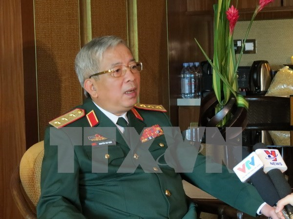 Defence ministry thanks China for help in search for CASA-212 hinh anh 1