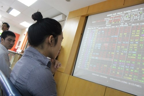 VN Index down after 7-day rally hinh anh 1