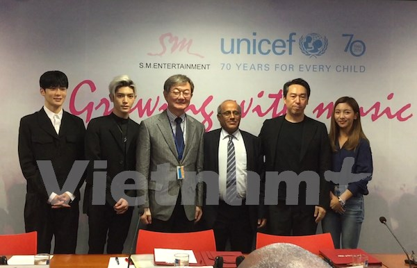 UNICEF, K-pop giant team up to enhance music education in Vietnam hinh anh 1