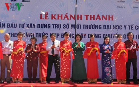 Hanoi school of public health's headquarters inaugurated hinh anh 1