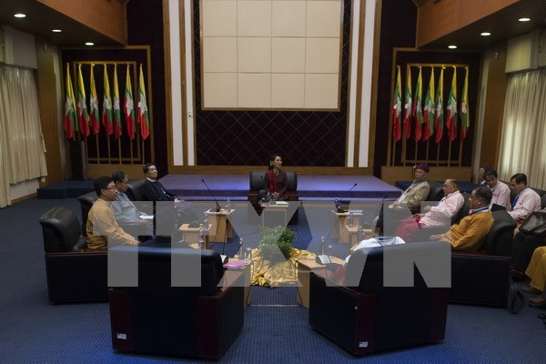 Myanmar: ethnic armed groups pledge negotiations with government hinh anh 1