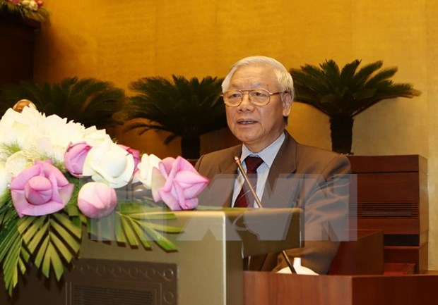 National Election Council reviews general election hinh anh 1