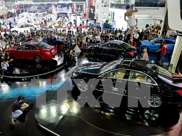 Vietnam's biggest motor show to be held in October hinh anh 1