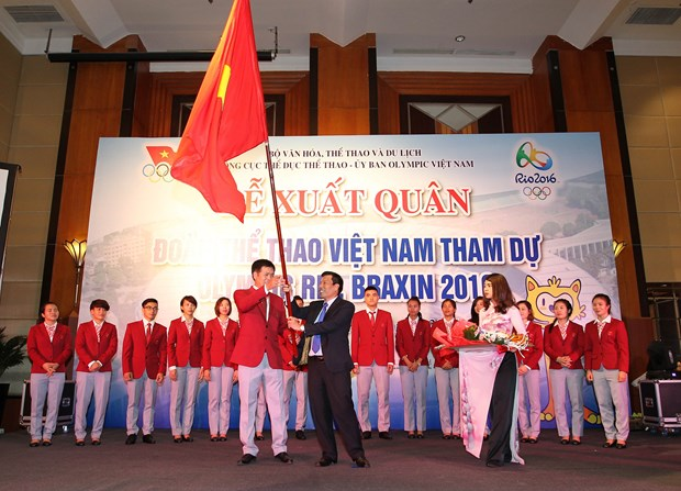 Vietnamese Olympians ready for Rio hinh anh 1