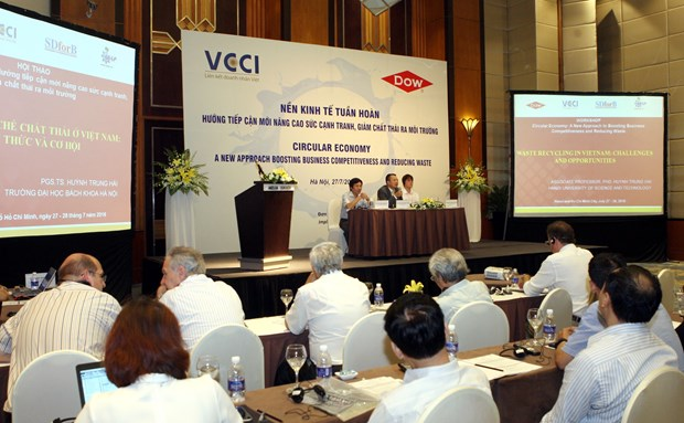 Circular economy to help with sustainable development: seminar hinh anh 1