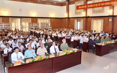 Ha Nam marks 55th Day for Agent Orange/Dioxin Victims hinh anh 1