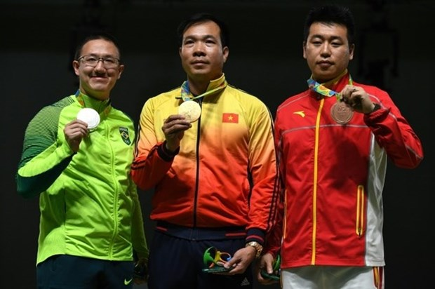 Vietnam wins first Olympic gold medal in history hinh anh 1