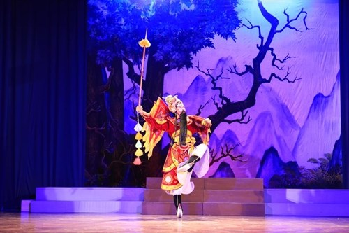 National classic drama contest staged in Da Nang hinh anh 1