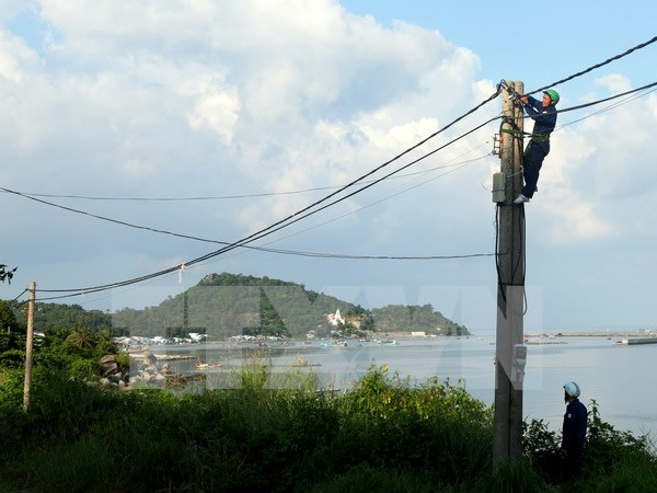 Two southern islands to be connected to national grid hinh anh 1