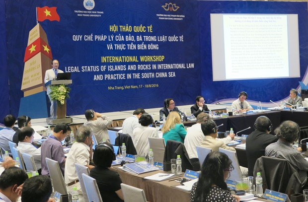 Call for peace, stability in East Sea repeated at int'l workshop hinh anh 1