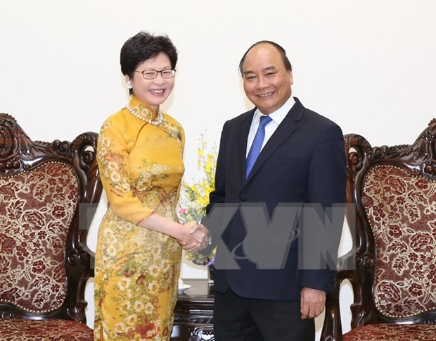 PM hopes Hong Kong will build ties with Vietnam's localities hinh anh 1