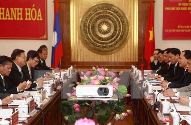 Lao NA Vice Chairman visits Thanh Hoa hinh anh 1