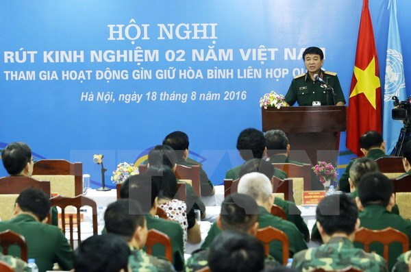 Vietnam actively joins UN peace-keeping activities hinh anh 1