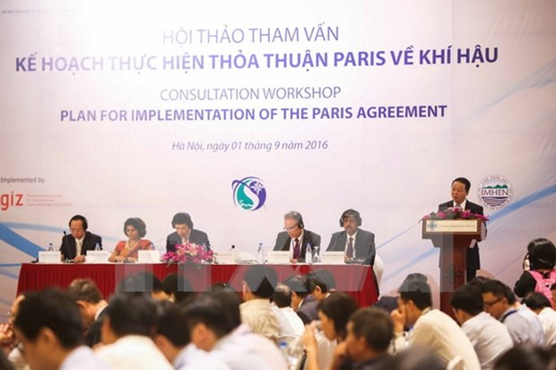 Vietnam geared up for Paris Climate Change deal hinh anh 1