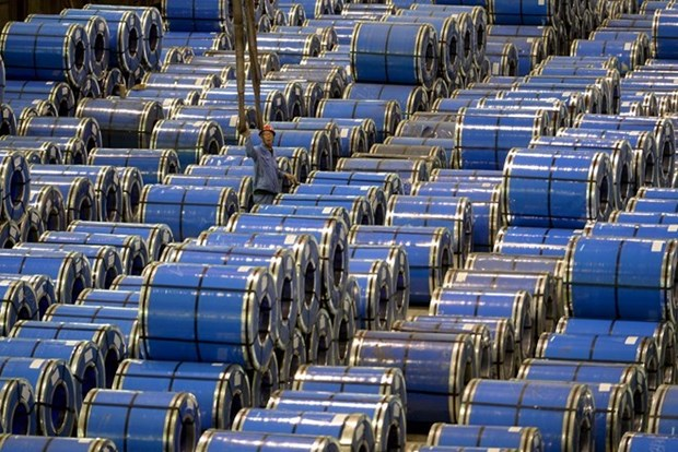 Temporary anti-dumping duties on steel from China, RoK hinh anh 1