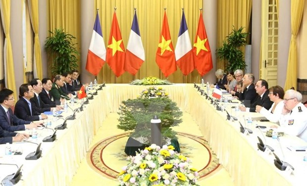 Vietnam, France work out measures to foster relations hinh anh 1