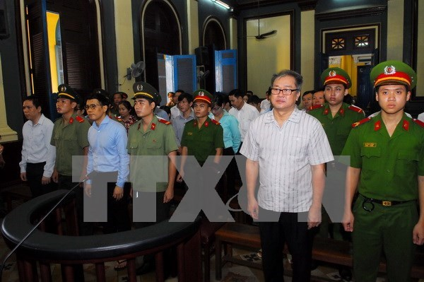 Court hands down 30-year sentence to former bank executive hinh anh 1